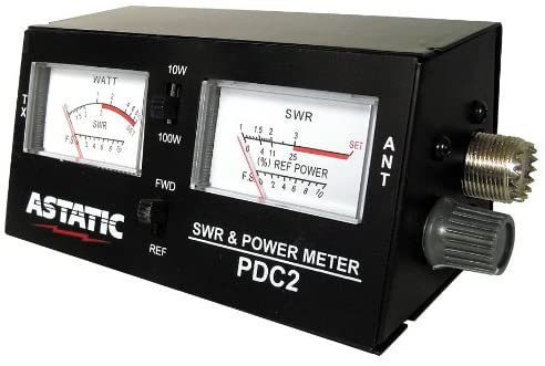 Astatic PDC2 SWR RF Field Strength Test Meter
