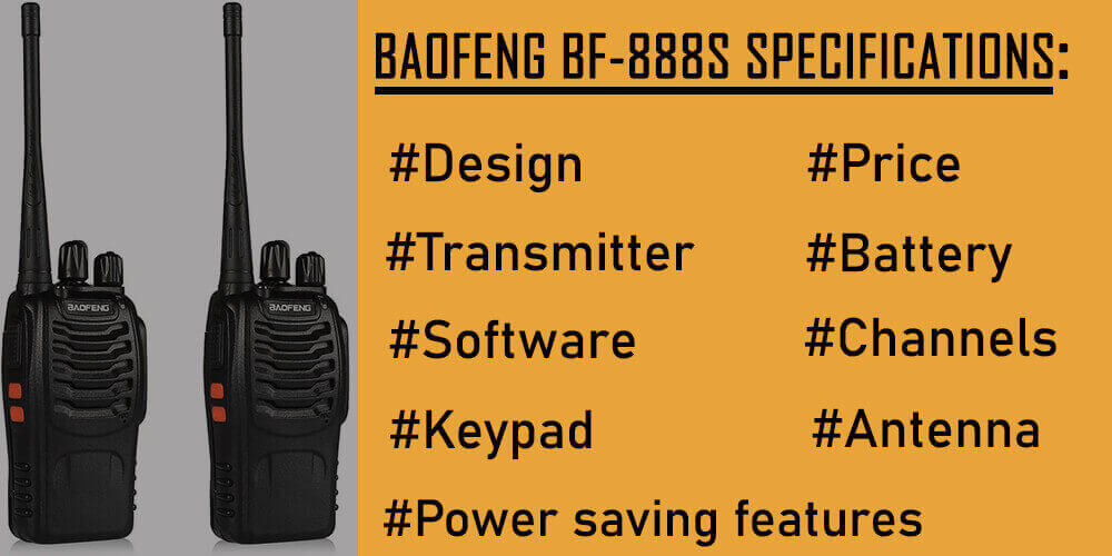 BaoFeng BF-888S Specification