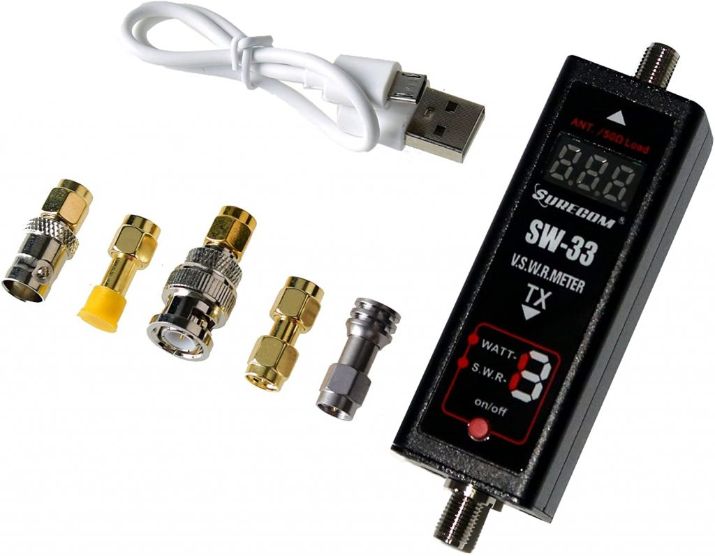 Gam3Gear Two-Way SWR Meter