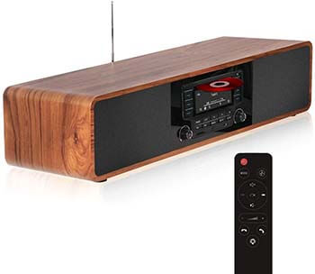 KEiiD Compact Wooden Music System review