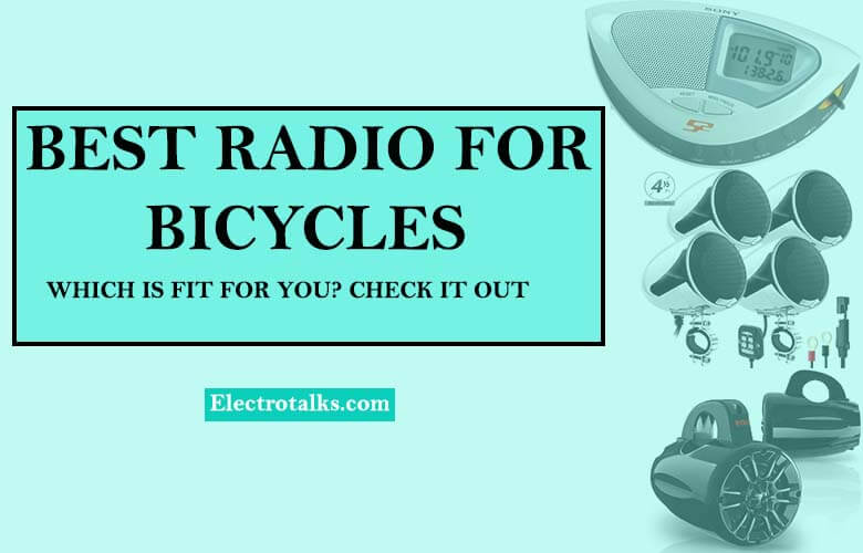 best radio for bicycle