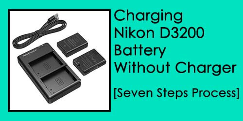 charge nikon d3200 battery without charger