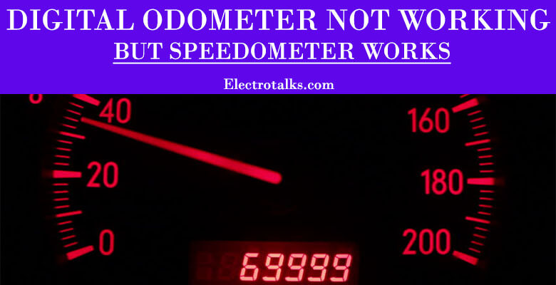 Digital Odometer Not Working