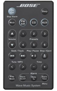 Bose Wave Music System Remote