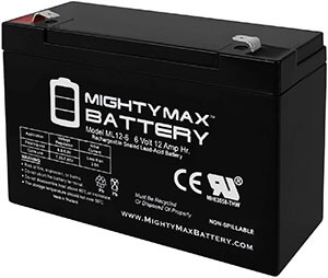Mighty Max (ML12-6F2-6 Volt) – Long Lasting Battery