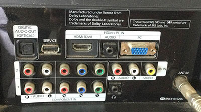 HDMI sound not working on TV